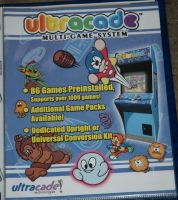 Ultracade multi-game system