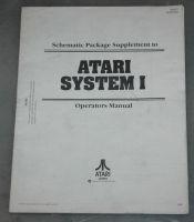 Atari System 1 schematics