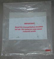 Atari plastic manual bag